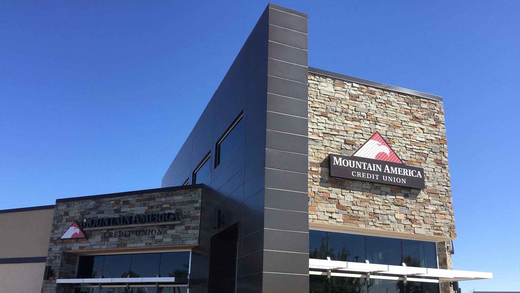 Mountain America Credit Union Architectural Building