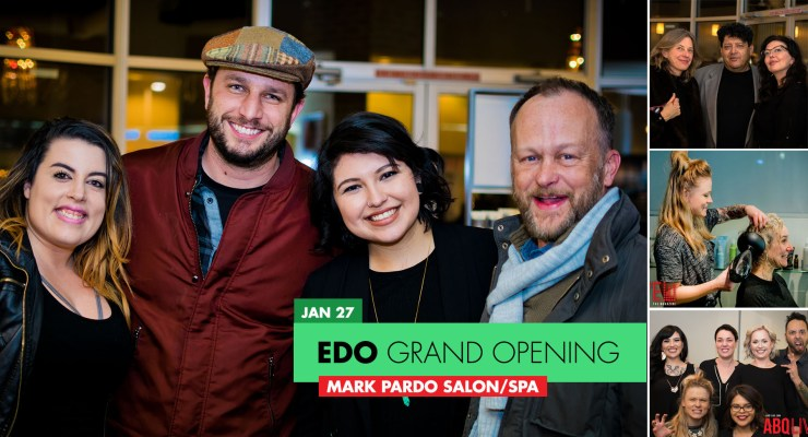 Mark Pardo EDO Grand Opening party