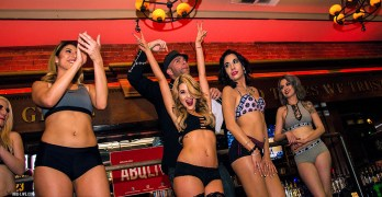 Ring Girl Competition at The Library Bar & Grill -2