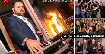 IBIZA Rooftop VIP party sponsored by Jagermeister