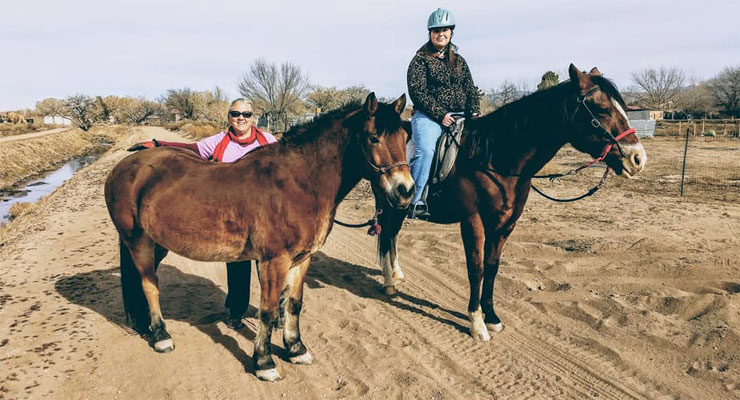 Giddy Up: Local business offers therapeutic riding services for Albuquerque area.