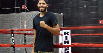 Undefeated Boxer Shoots for the Stars