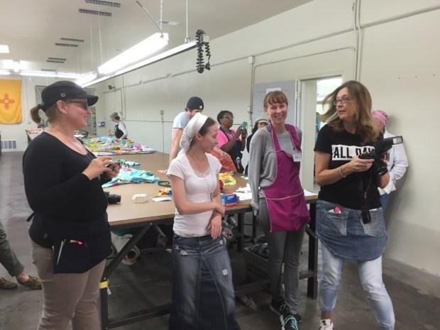 L-R: Susan, Keera, Kris and Bente
