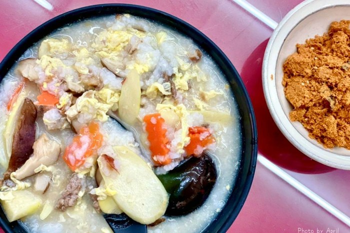 台中粥品-浦源生粥店 台中少見的筊白筍瘦肉粥