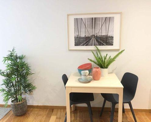 Abracadabra Decor Vigo Home Staging decora para vender o alquilar de estudio a apartamento