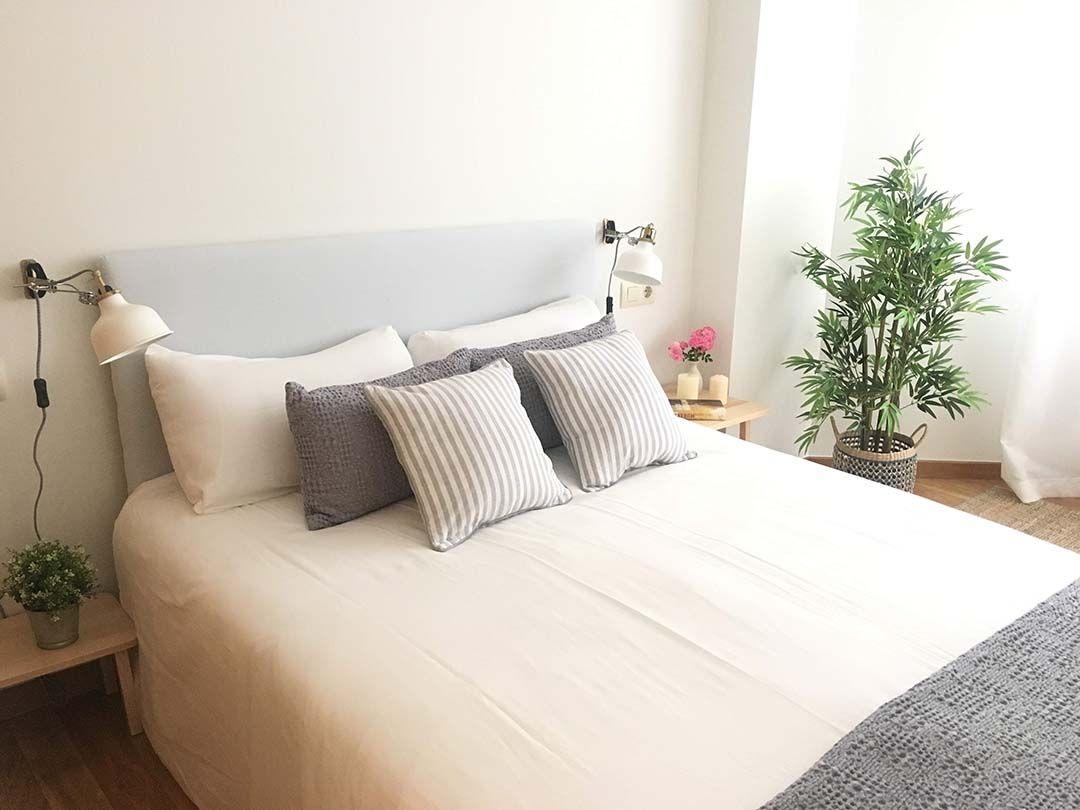 Abracadabra Decor Vigo Home Staging decora para vender o alquilar de estudio a apartamento - dormitorio