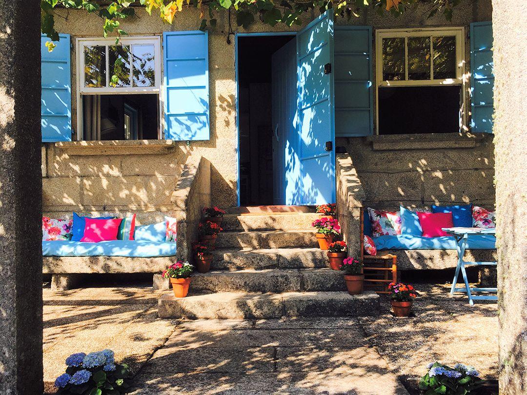 Abracadabra Decor Vigo Home Staging decora para alquiler vacacional - entrada
