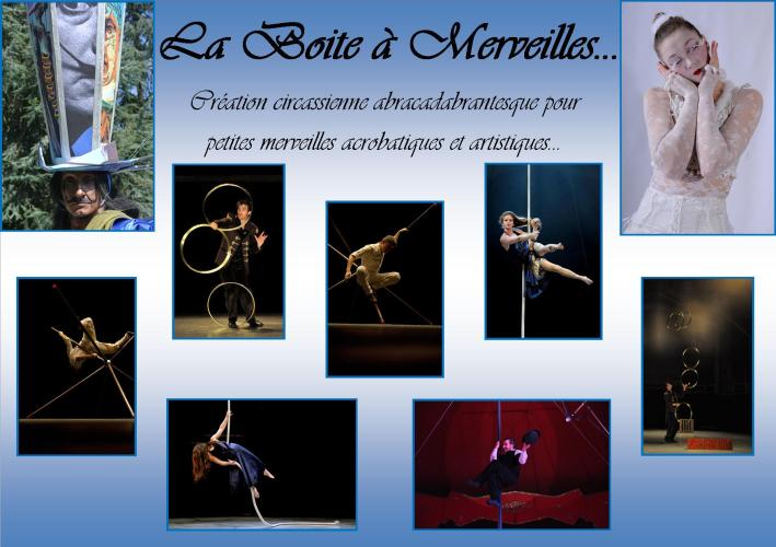 boite a merveilles spectacle cirque corde aerienne fil de fer mat chinois acrobatie jongleur manipulation deambulation echassier magie costumes  (14)