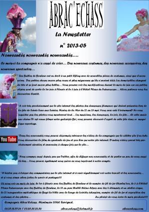 newsletter n° 2013-05