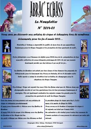newsletter n° 2014-01