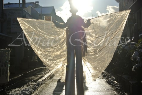 dentelles d'echass echassiers lumineux feeriques blancs parade animation evenementiel noel carnaval soirees blanches juspes originales leds g (60)