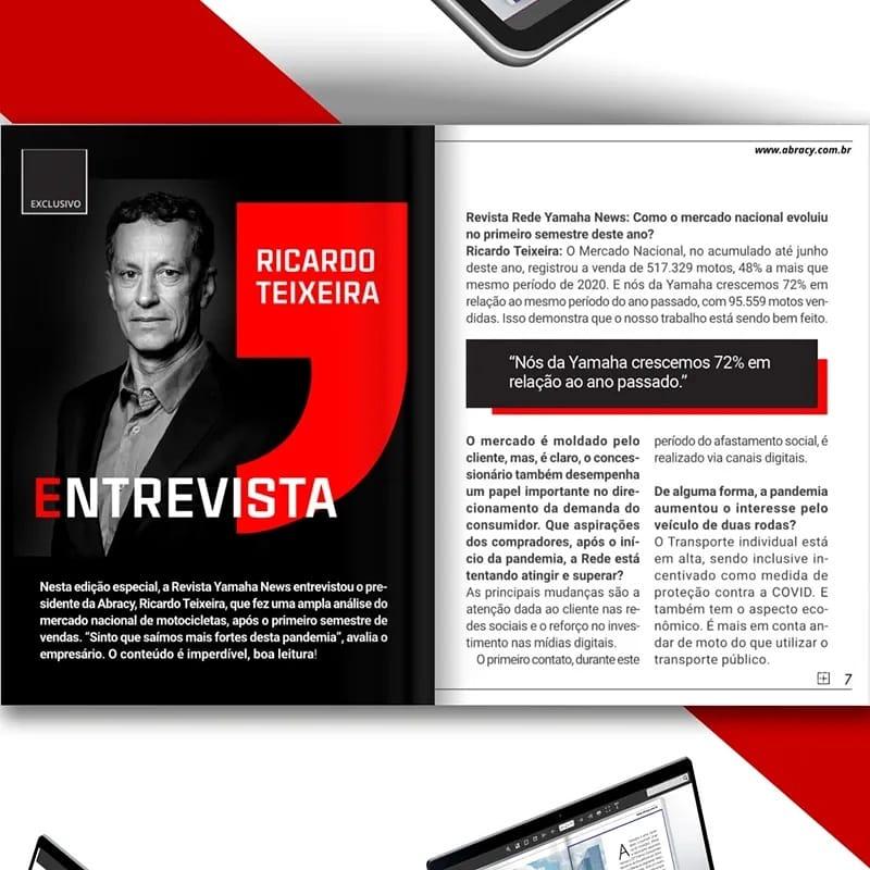 Entrevista com Presidente da Abracy – Ricardo Teixeira