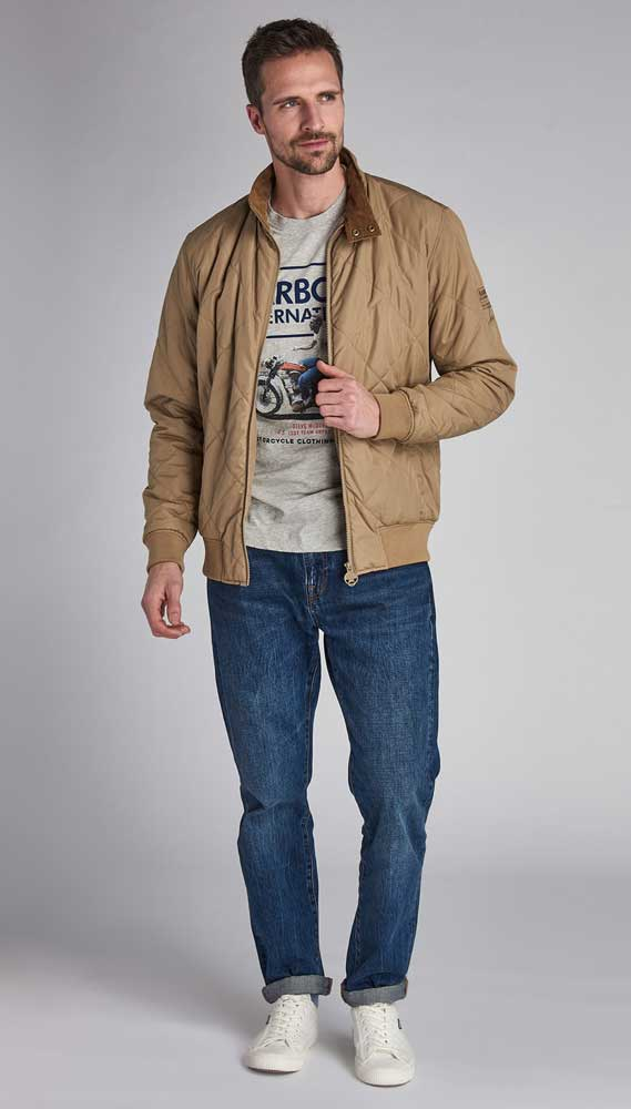 Barbour International Steve McQueen Glance Quilted Jacket