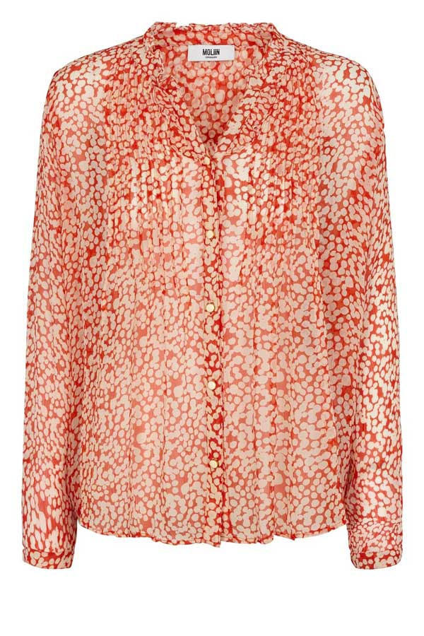 Moliin Misse blouse pink