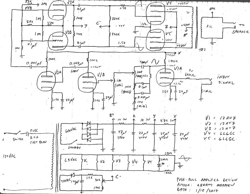 6L6GC amp schematic