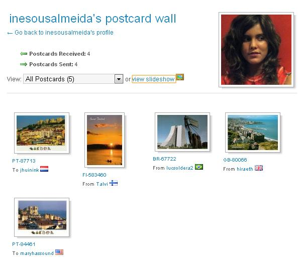postcrossing-wall