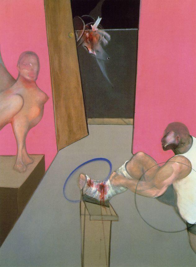 Francis Bacon - Oedipus and the Sphinx (after Ingres), 1983