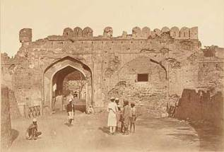 The Kashmiri Gate is one of the thirteen entryways of Walled City of Lahore in Lahore, Punjab, Pakistan