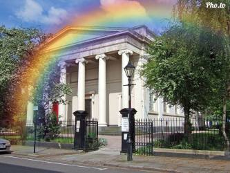 St Bride's Church, Liverpool, proudly supported Rainbow Sunday