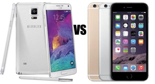 IPhone 6 Plus vs Galaxy Note 4 vs Vibe Z2 Pro