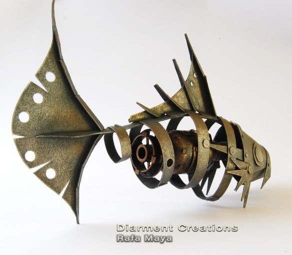 """Steampunk Fish"""