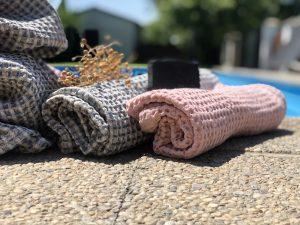 vaflové uteráky