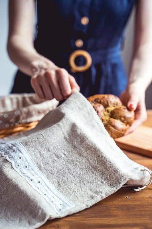 vrecko na kváskový chlieb