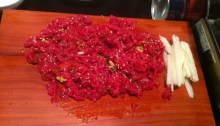 Weird Noms: Raw Beef