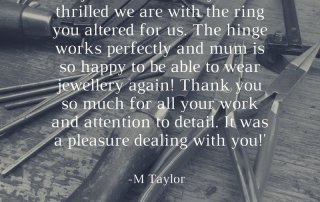 customer feedback, Customer review, happy customers, Abrecht Bird review, hinged ring review,