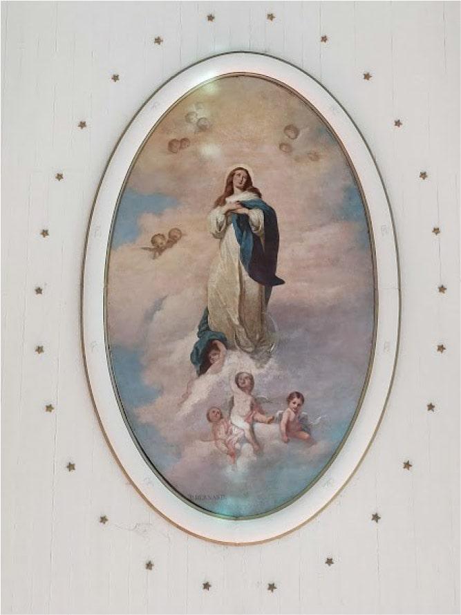 Foto 12. Nossa Senhora é Nossa Defesa.