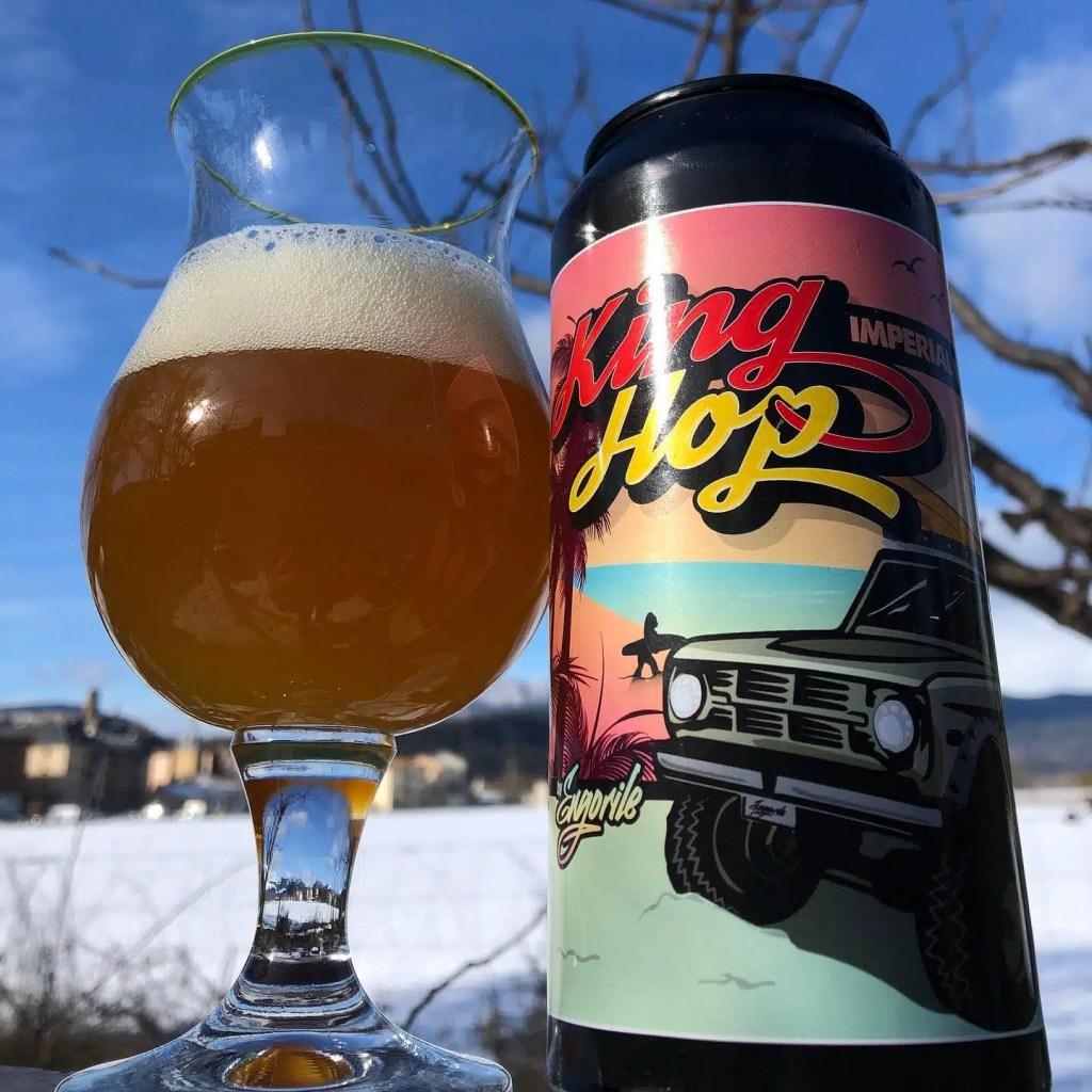 King Hop de Engorile Beer Imperial IPA