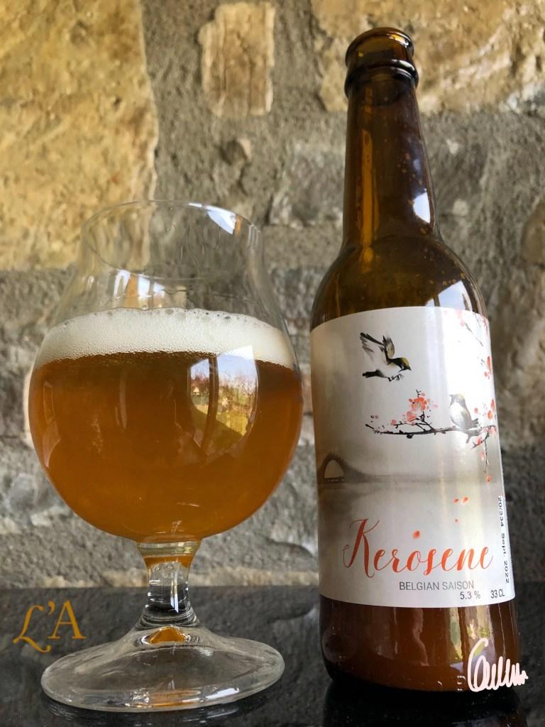 Cerveza La Calavera Kerosene. Una Belgian Saison de Girona