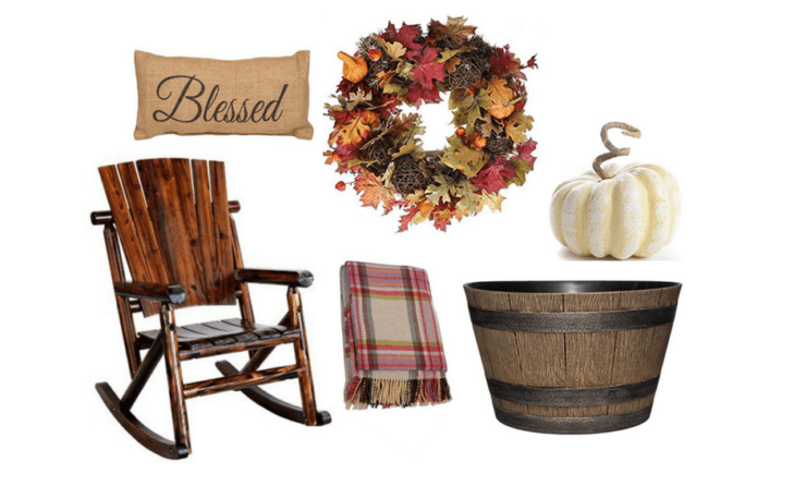 Gorgeous Neutral Fall Decor For Your Mantel • A Brick Home