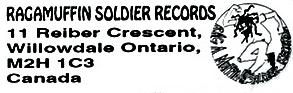 Ragamuffin Soldier Records logo