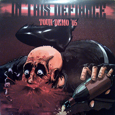 "In This Defiance's first demo, ""Tour Demo 05"", with the first artwork."