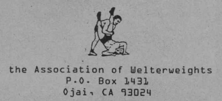 The Association of Welterweights Records logo