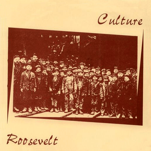 "Intention 2 - Culture / Roosevelt split 7"" repress (1996)"