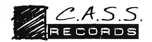 """C.A.S.S. Records"" (Cascade Audio Sound Spectrum) logo, circa 1998"