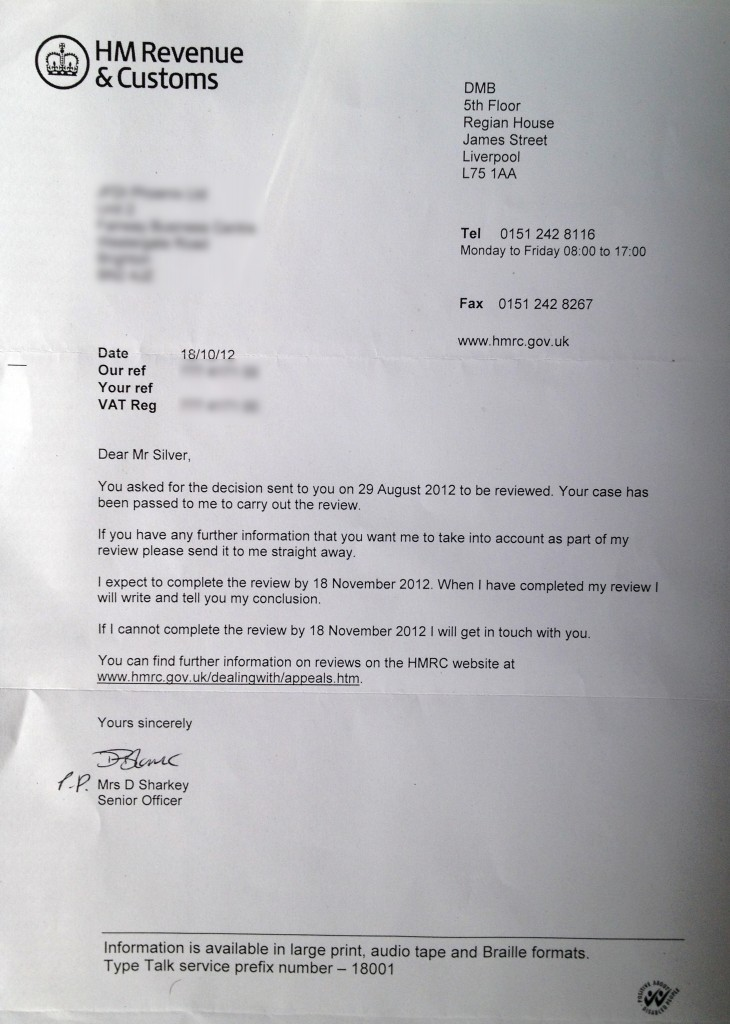 HM Revenue & Customs - civil penalty appeal review