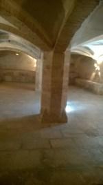 The underground fish storage crypt