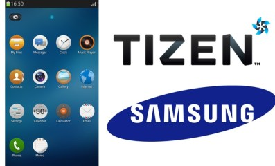 tizen user interface