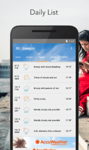 accuweather user interface 3