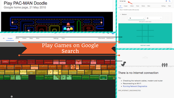 How To Play Games On Google Search 4 Hidden Games Abrition
