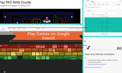 How To Play Games On Google Search