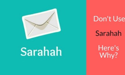Strong Reasons Why You Should Never Use Sarahah App