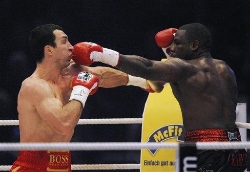 Germany Boxing Klitschko Rahman