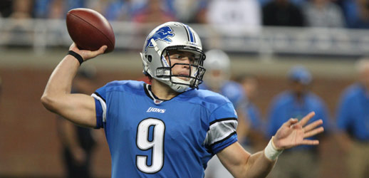 Detroit  Lions  first  round  draft   pick,  starting  quarterback   Matthew Stafford.   picture appears courtesy of  ap/photo/  Carlos Osorio    ...............