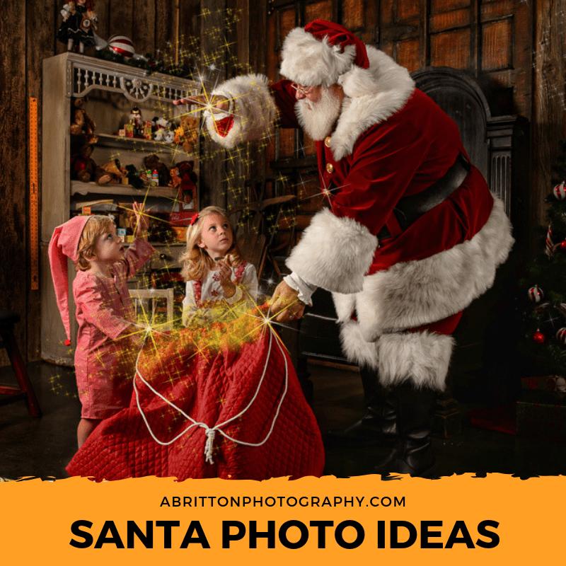 santa photo ideas