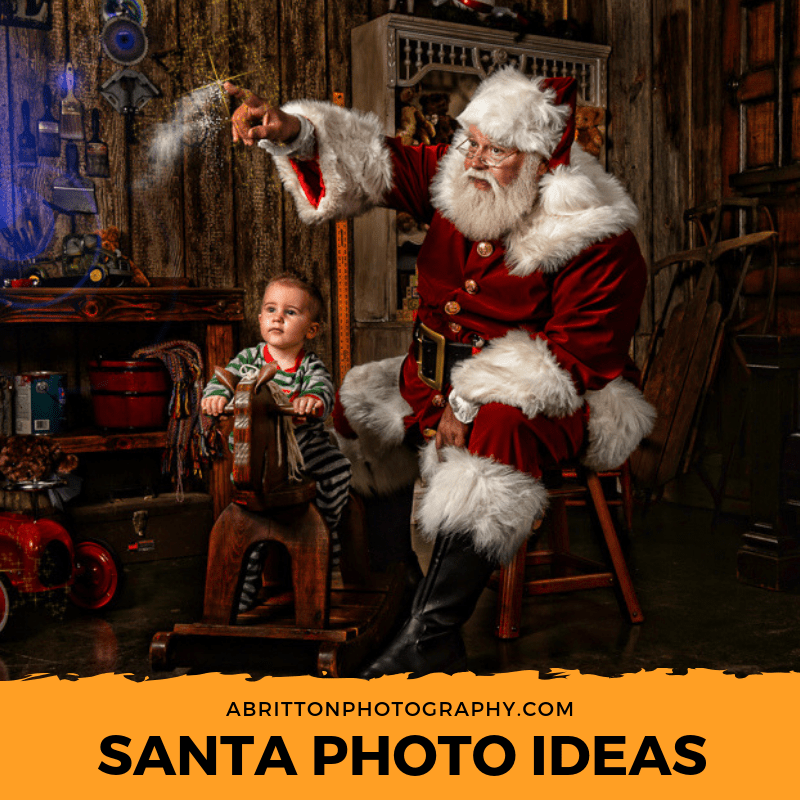 santa photo ideas