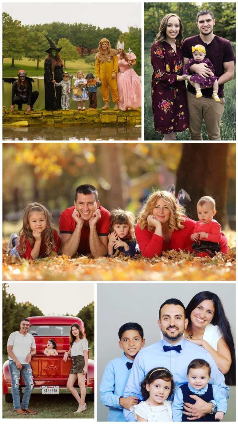 Family Portrait picture Color Ideas